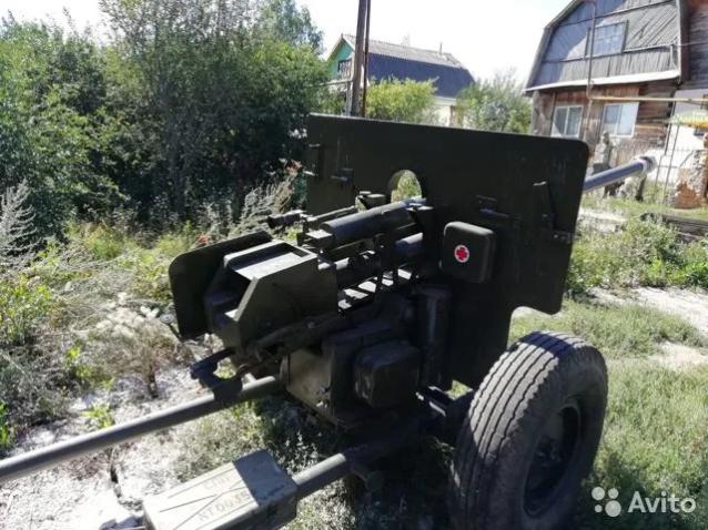 Фото В Кировской области за 350 тыс. рублей продают противотанковую пушку ЗиС-2