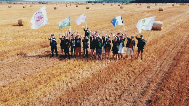 Фото Более 200 студентов приняло участие в проекте «СТАВКА» в составе 10 сельскохозяйственных отрядов