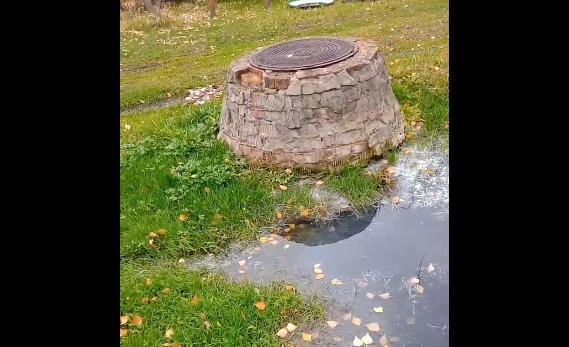 Фото В Котельничском районе канализационная река смыла целый посёлок