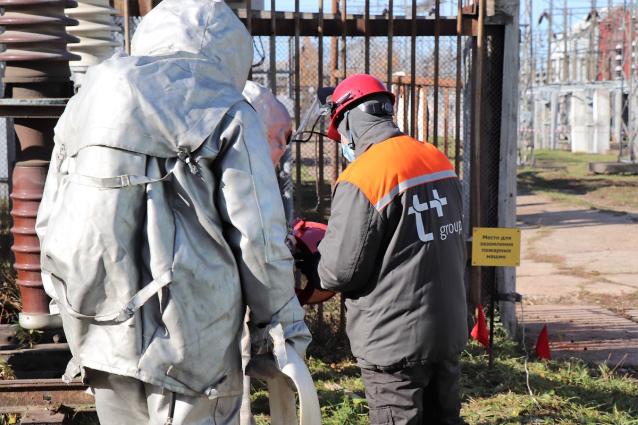 Фото На Кировской ТЭЦ-4 прошли совместные учения МЧС и энергетиков
