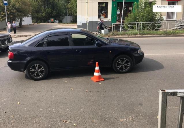 Фото В Кирове водитель «Ауди» сбил женщину на пешеходном переходе