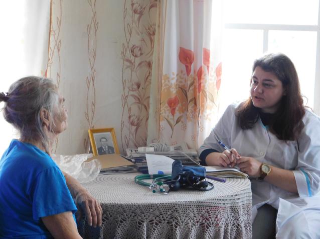 Фото В Коми пожилых сельчан начали возить на медосмотры