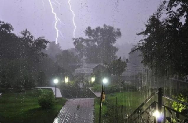 Фото В Кировской области на 19 августа объявили метеопредупреждение из-за ливней и усиления ветра