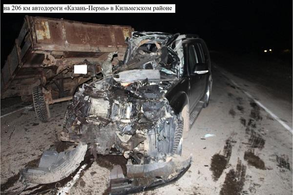 Фото В Кильмезском районе «Ниссан» столкнулся с трактором