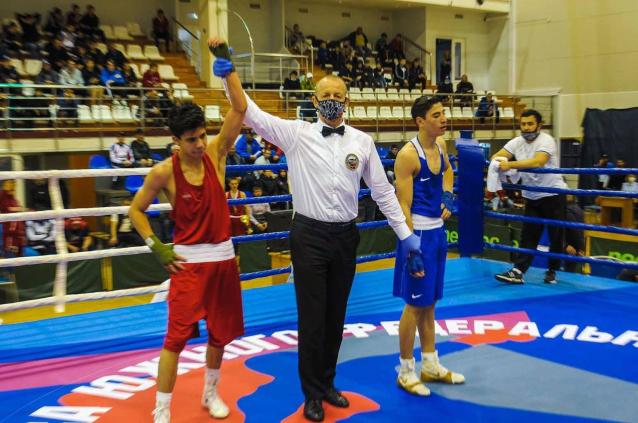 Фото Боксер из Коми стал победителем первых игр стран СНГ в Казани