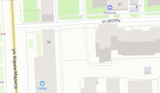 Фото В Кирове улица МОПРа на пересечении с улицей Карла Маркса станет непроезжей
