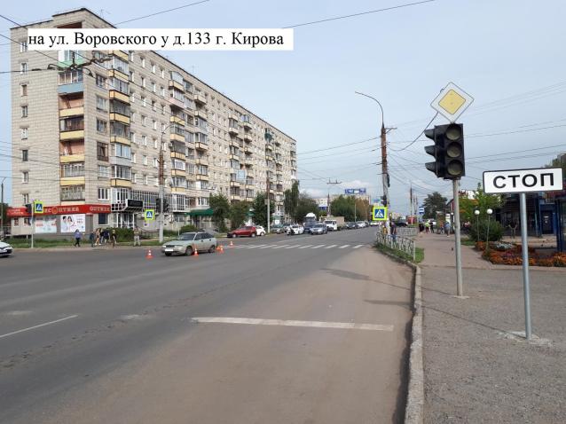 Фото В Кирове сбили 11-летнюю девочку на пешеходном переходе