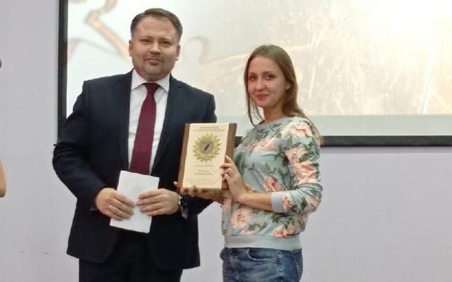 Фото Журналист «Источника» Анжела Овчинникова стала призёром престижного конкурса «СМИротворец-2021»