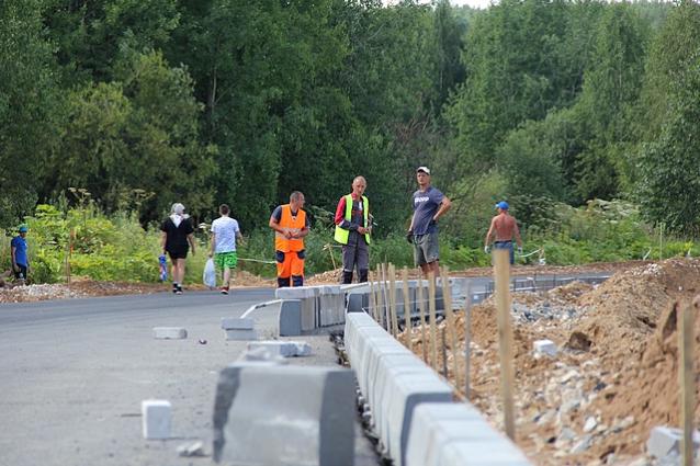 Фото В Сыктывкаре «Малую объездную» дорогу откроют к концу сентября