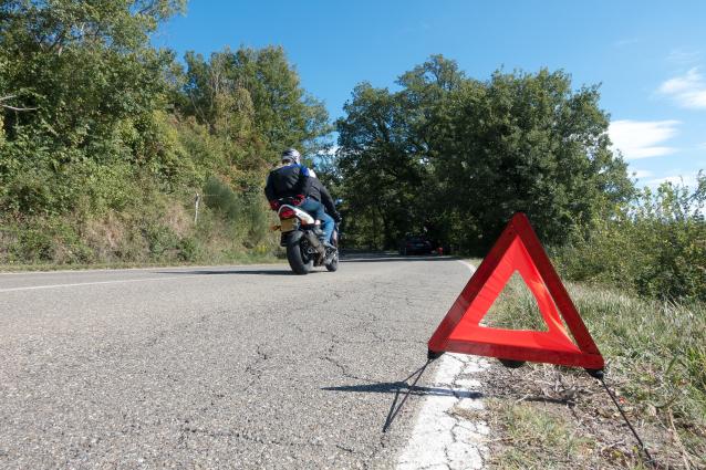 Фото В Коми произошло ДТП с участием 15-летнего мотоциклиста
