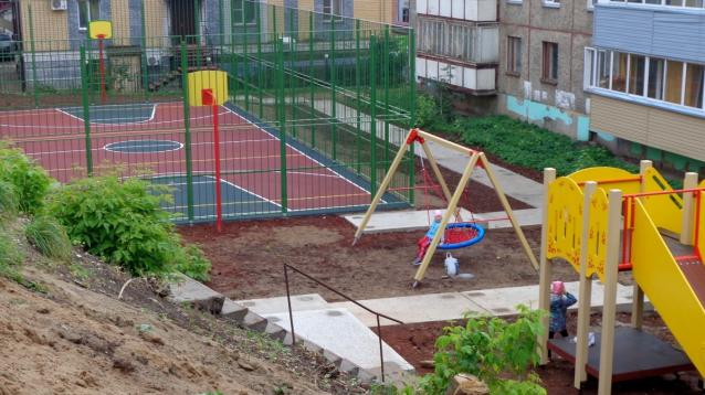 Фото В Кирове на Октябрьском проспекте открыли новую спортплощадку