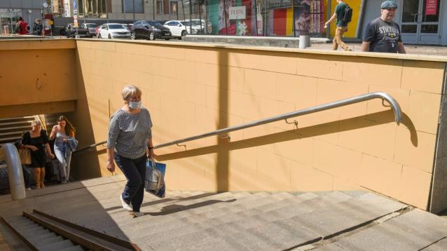 Фото В Кирове стены подземных переходов закрасили из-за вандалов