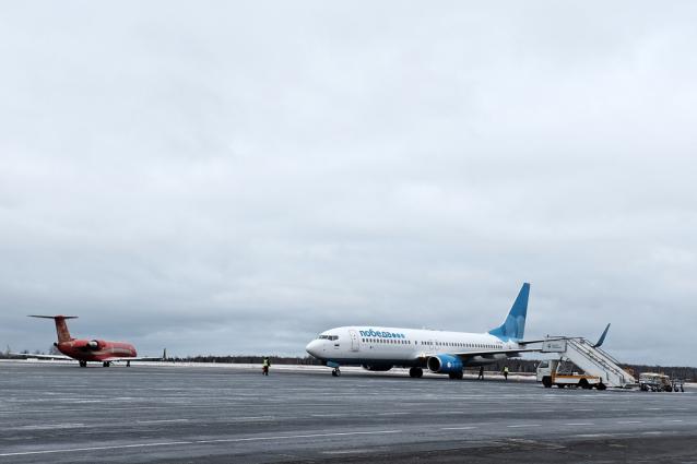 Фото В аэропорту «Победилово» пассажиропоток за 8 месяцев 2021 года превысил 220 тыс. человек