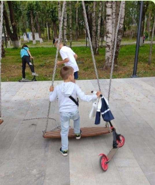 Фото В Сыктывкаре на новой площадке у Центрального бассейна зафиксировали первые поломки