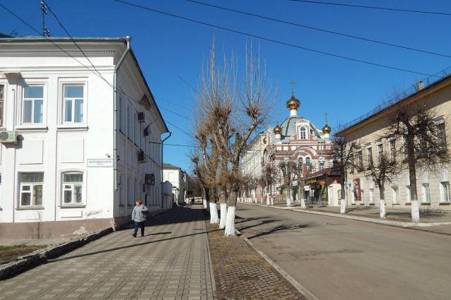 Фото В историческом центре Кирова может появиться «кольцевая пешеходная дорога»