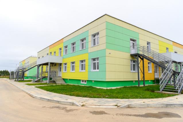 Фото В Выльгорте откроют детсад за 260 млн рублей