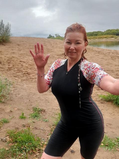 Фото «Моржую уже третий сезон»: сыктывкарка рассказала о своём 1,5-часовом заплыве в ледяной воде