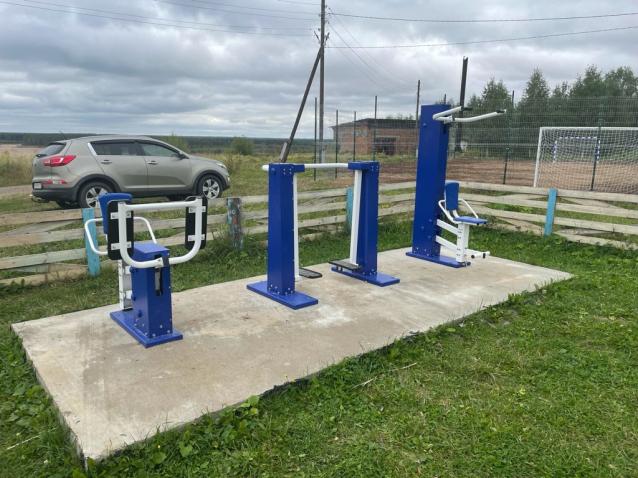 Фото В Мадже построили спортплощадку за 667 тысяч рублей