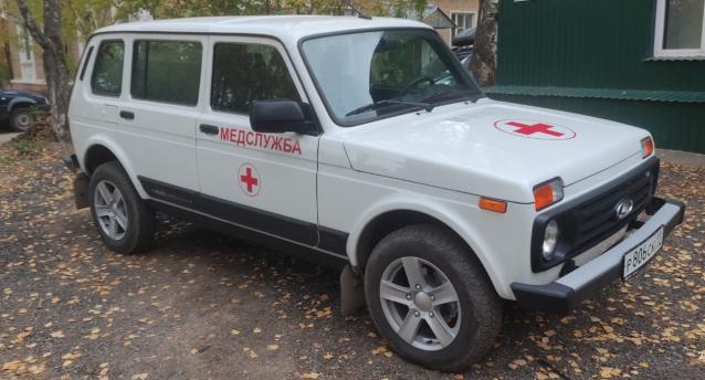 Фото Поликлиника в Ухте получила новый автомобиль с медицинским салоном