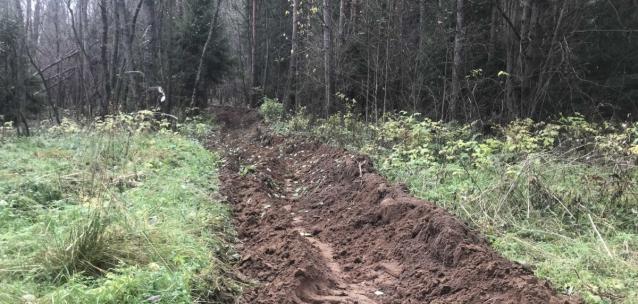 Фото Населённые пункты Октябрьского района Кирова обезопасили от лесных пожаров