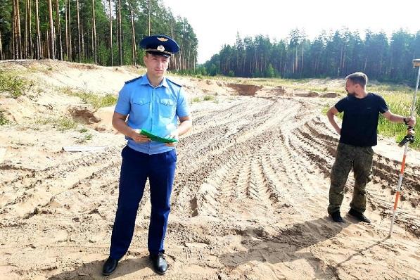 Фото В Кировской области ущерб от незаконной добычи полезных ископаемых составил 1,7 млн рублей