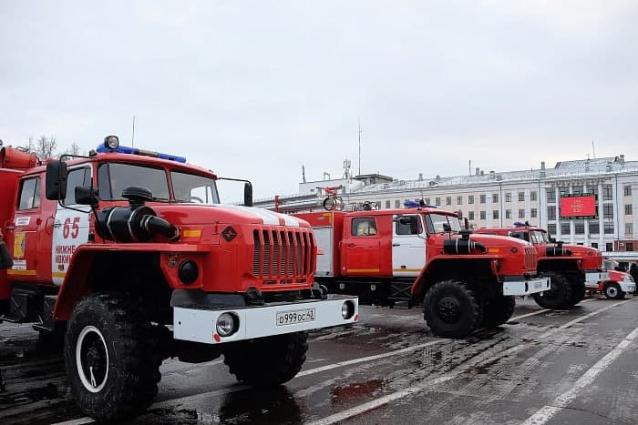 Фото В Слободском построят быстровозводимое здание пожарной части на 4 автомобиля