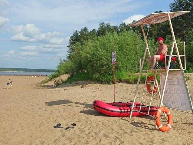 Фото В Сыктывкаре закрылся единственный официальный пляж