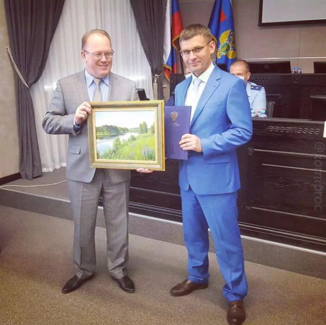 Фото В Ухте судьей стал природоохранный прокурор Юрий Гудков