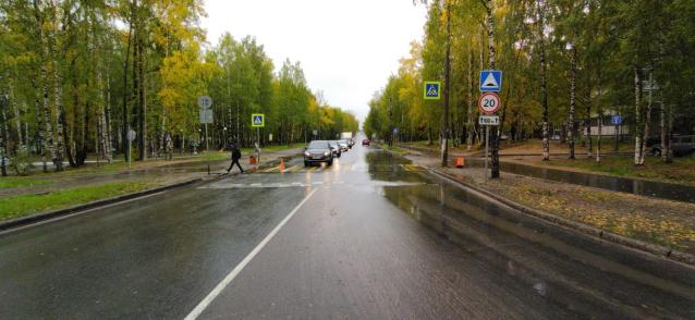 Фото В Сыктывкаре водитель сбил пешехода и скрылся