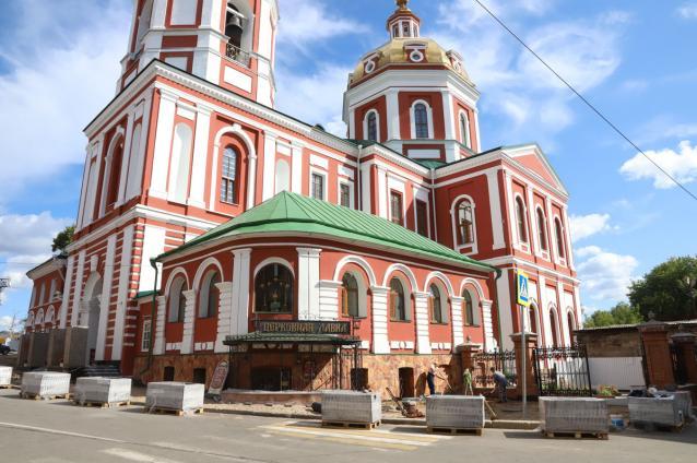 Фото В Спасском соборе объявили об окончании строительного сезона