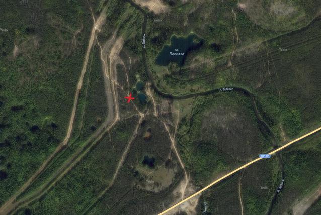 Фото Возле памятника Параськины озера запретят въезд автомобилей
