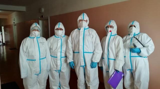 Фото В медучреждениях Коми вновь разворачивают дополнительные койки для больных коронавирусом