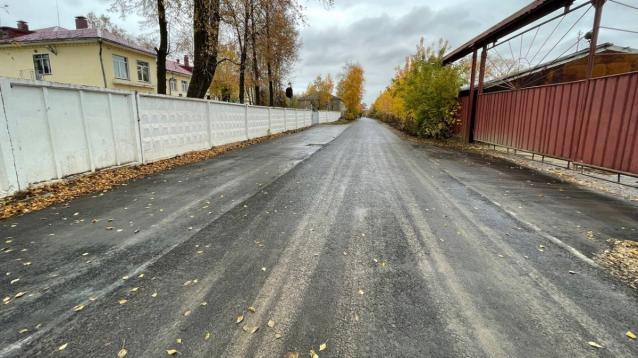 Фото В Кирове отремонтировали улицу Есенина