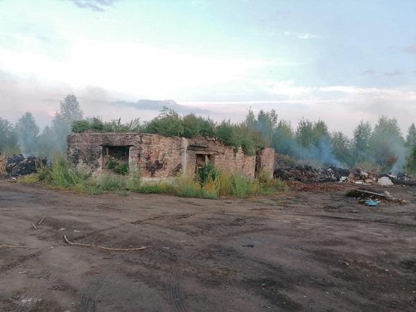 Фото ОНФ: несанкционированную свалку в Котельниче ликвидируют за счёт налогоплательщиков