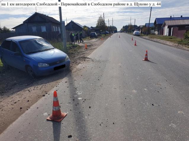 Фото Водитель «Калины» насмерть сбил 61-летнюю женщину в Слободском районе