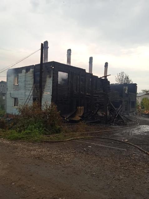 Фото В Котельниче при пожаре в жилом доме погиб мужчина